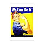 Rosie the Riveter Mini Poster Print