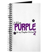 I Wear Purple For My Daughter-In-Law 14 Journal
