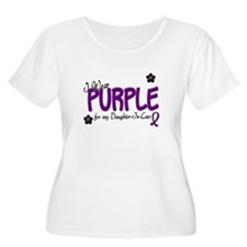 I Wear Purple For My Daughter-In-Law 14 T-Shirt