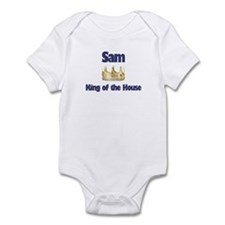Sam - King of the House Infant Bodysuit