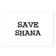 Save Shana Postcards (Package of 8)