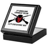 1st BCT 34th Infantry Division (1) Keepsake Box