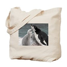 Unique Animals penguin Tote Bag