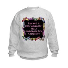 kindergarten student back to school Sweatshirt