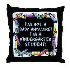kindergarten student back to school Throw Pillow