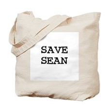 Save Sean Tote Bag