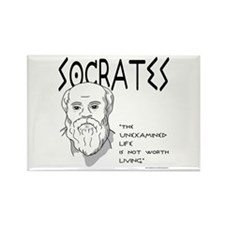Socrates Rectangle Magnet (10 pack)