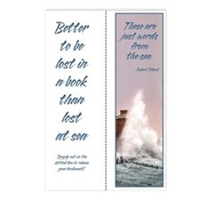 Sea Words Single Bookmark (8 pak)