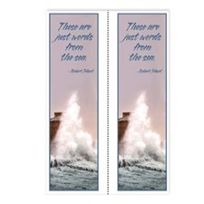 Sea Words Double bookmark (8 pak)