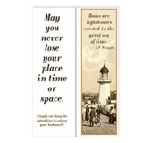 Lighthouse Single bookmark (8 pak)