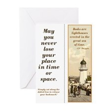 Lighthouse 3 bookmark kit (10 pak)