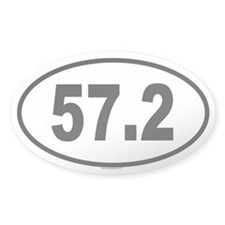 57.2 Oval Decal