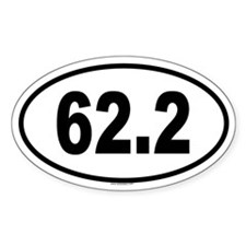 62.2 Oval Decal