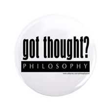 "Got Thought? 3.5"" Button (100 pack)"