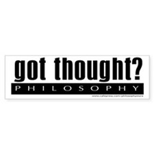 Got Thought? Bumper Sticker (10 pk)