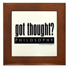 Got Thought? Framed Tile