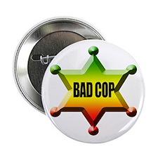 """Bad Cop Rasta 2.25"""" Button"""