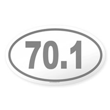 70.1 Oval Decal