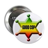 "Good Cop Rasta 2.25"" Button"