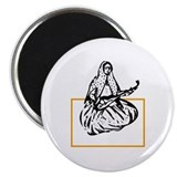 "Qajar Tar-player 2.25"" Magnet (10 pack)"