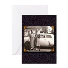 Essie Mae & Willie Greeting Card