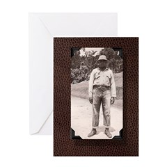 Black man Greeting Card
