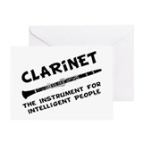 Clarinet Genius Greeting Card