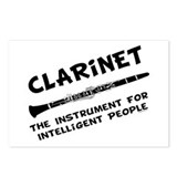 Clarinet Genius Postcards (Package of 8)