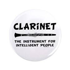 "Clarinet Genius 3.5"" Button (100 pack)"