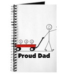 Proud Dad 3 kids Journal