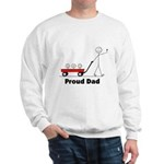 Proud Dad 3 kids Sweatshirt