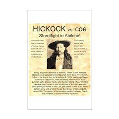 Hickock vs. Coe Posters