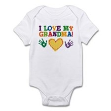 I Love My Grandma Infant Bodysuit