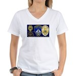 Compton PD History Women's V-Neck T-Shirt