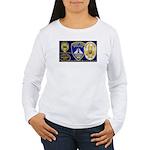 Compton PD History Women's Long Sleeve T-Shirt