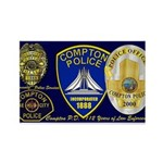 Compton PD History Rectangle Magnet (100 pack)