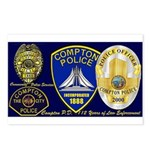 Compton PD History Postcards (Package of 8)