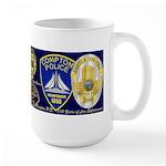 Compton PD History Large Mug