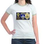 Compton PD History Jr. Ringer T-Shirt
