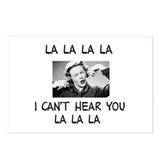 La La La I cant hear... Postcards (Package of 8)