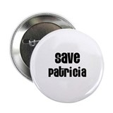 "Save Patricia 2.25"" Button (10 pack)"