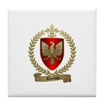 DENIS Family Crest Tile Coaster