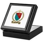 DESBIENS Family Crest Keepsake Box