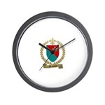 DESBIENS Family Crest Wall Clock