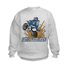 Eat, Sleep, Ride Motocross Sweatshirt