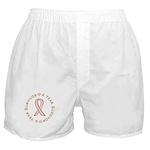 4 Year Breast Cancer Survivor Boxer Shorts