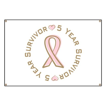 5 Year Breast Cancer Survivor Banner