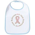5 Year Breast Cancer Survivor Bib