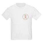 5 Year Breast Cancer Survivor Kids Light T-Shirt