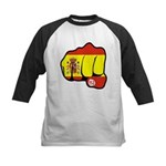 MADRID BOMBING Kids Baseball Jersey